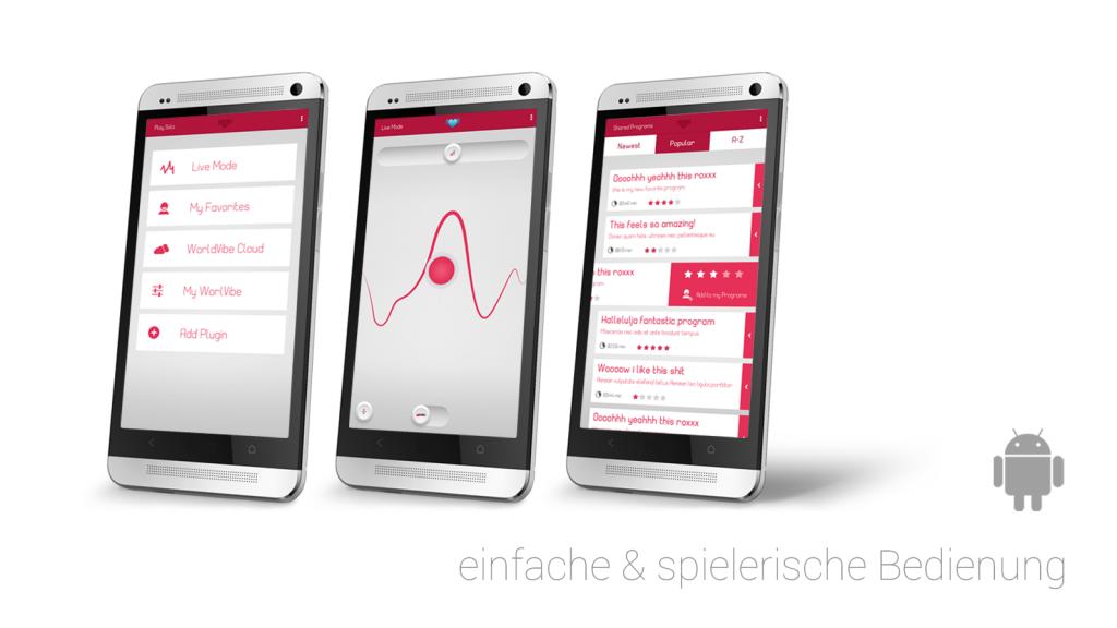 Phone vibrator app